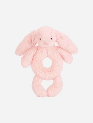 PINK BUNNY RATTLE TOY (18 CM)