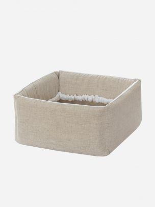 Bege Linen Basket