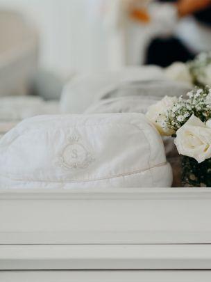White Linen Nécessaire