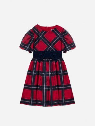 EXCLUSIVE TARTAN PRINT DRESS
