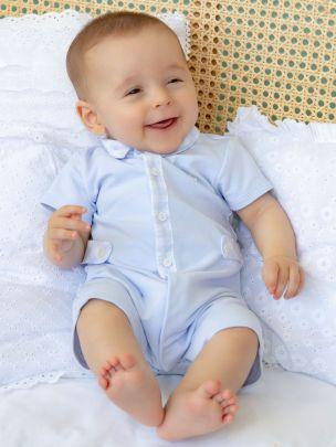 Blue Patchwork Blanket