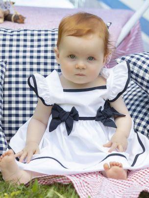 White Popeline Dress