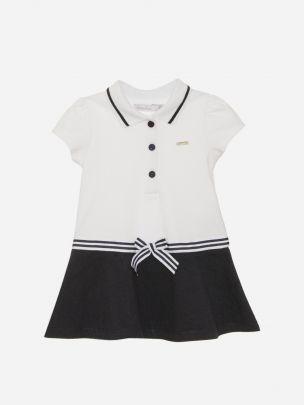 White Piquet Dress