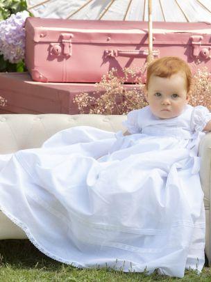 White Organza Baptism Dress
