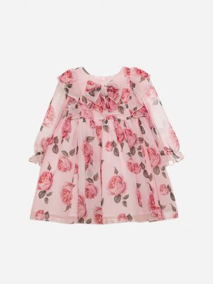 Roses Chiffon Dress