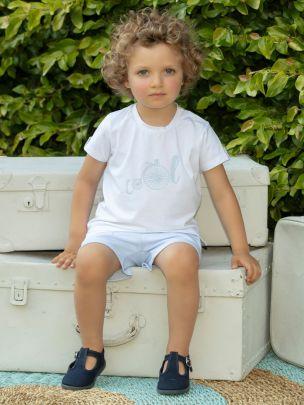 White Jersey T-shirt