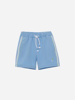 Blue sweat Shorts