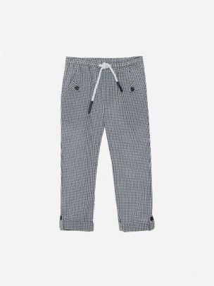 Navy Vichy Pants
