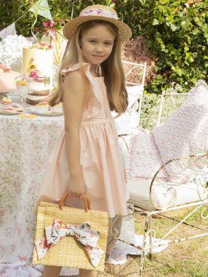 Pale Pink Popeline Dress