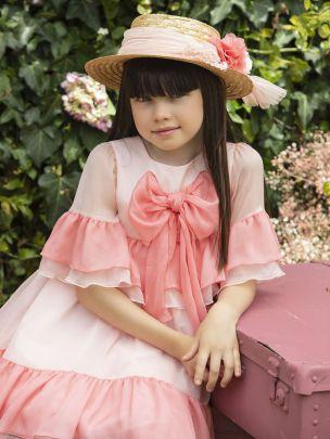 Pale Pink Bambula Dress