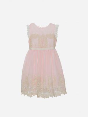 Light Pink Chiffon Dress