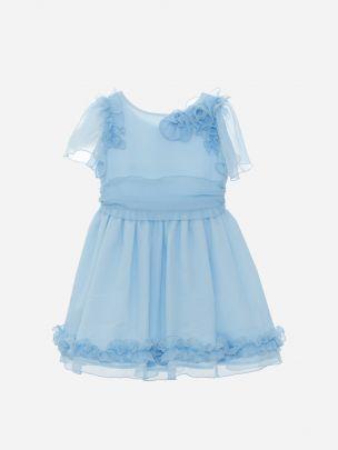 Blue Bambula Dress
