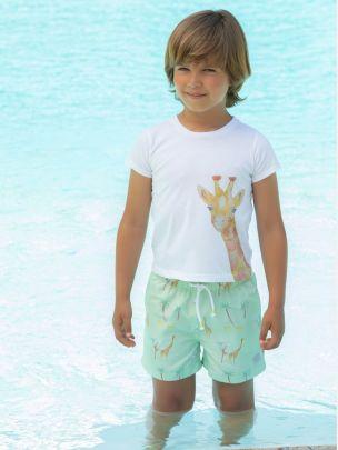 White Jersy T-shirt
