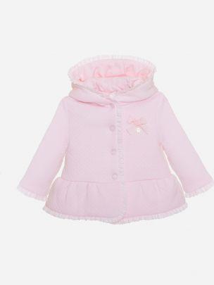 Pink Knit Coat