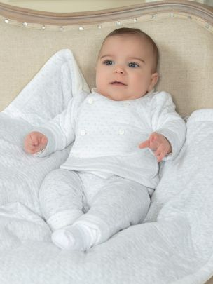 Double Grey Knit Set