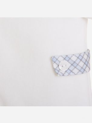 Grey Knit Babygrow