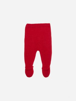 Red Tricot Pants