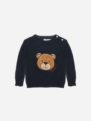Navy Tricot Sweater