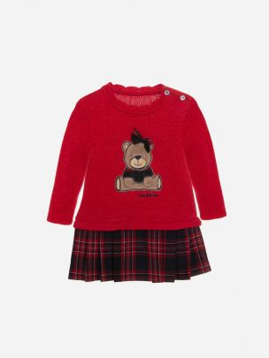 Red Tricot Dress