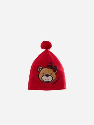 Red Tricot Hat