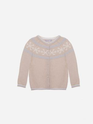 Bege Tricot Cardy