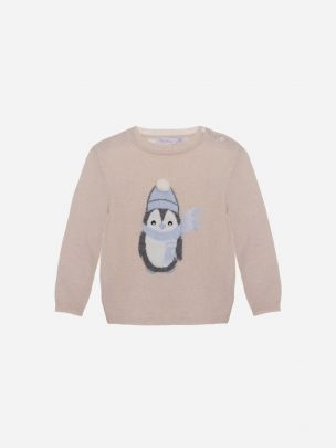 Bege Tricot Sweater