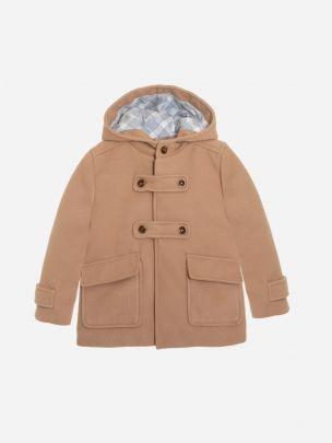 Camel Flannel Coat