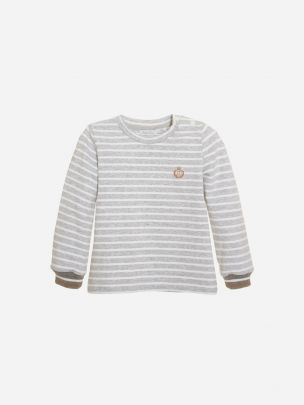 Grey Stripes Jersey T-shirt