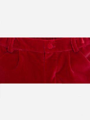 Red Velvet Shorts