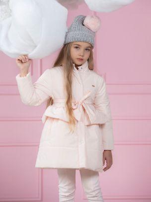 Pale Pink Microfiber Raincoat