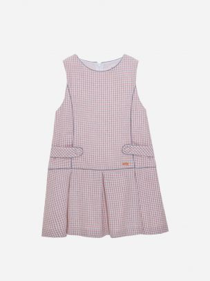 Pink Check Flannel Dress