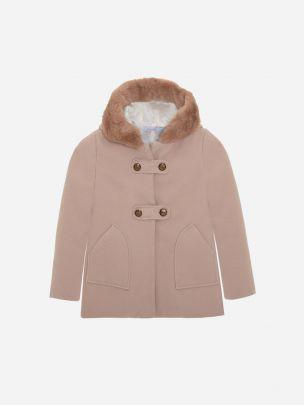 Bege Flannel Coat