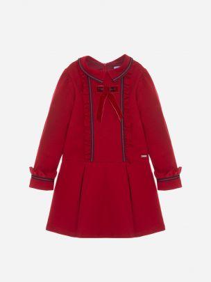 Red Interlock Dress