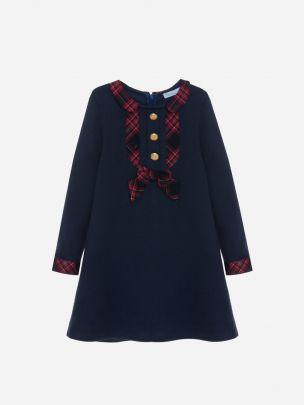 Navy Interlock Dress