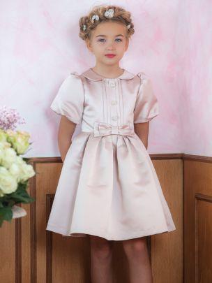 Light Pink Satin Dress