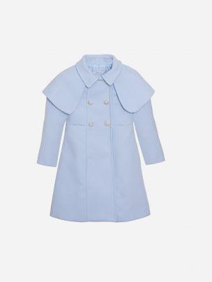 Blue Flannel Coat