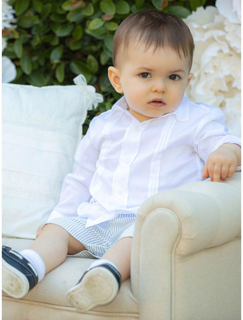 Cotton Satin White Shirt