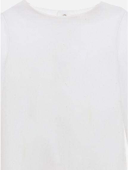 White Jersey Babygrow