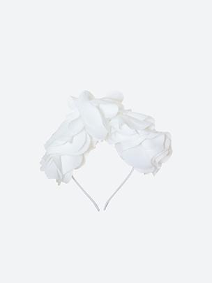 White Hairband