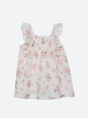 Flower Plumeti Dress