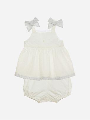 Baby Girl White Set